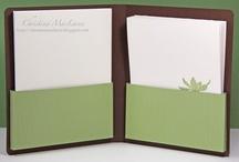 Notecard gift box tutorials / by Linda Chadbourne