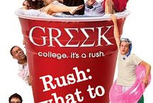 # Greek, college is a rush #