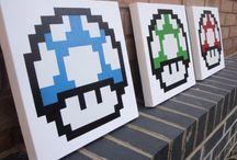 Mario Room / by Krissy Venosdale