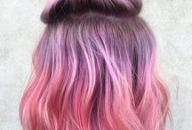 hair + colour / maybe one day i'll have these beautiful and really hard to achieve colors bc why give up amrite