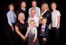 familie gruppe lyssætning