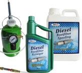Roetfilter / Producten voor het reinigen van roetfilters