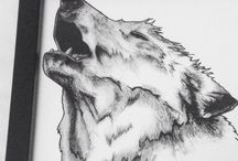 Wolf / What started out as a childhood fear of mine is now an artistic inspiration.