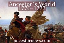 Ancestor's World / What was going on during the lifetime of your ancestors? Fascinating articles to help genealogists put the life of an ancestor into historical context. Great way to add real-life events to your ancestor's timeline.