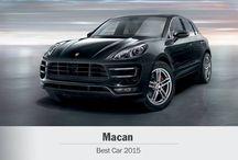 Porsche Macan: Auto del año #BestCars2015 / by Porsche de México