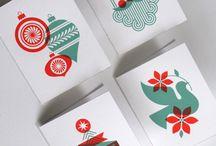 크리스마스 카드, 공지문