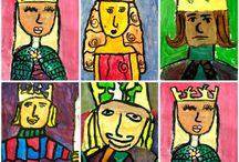 konge malerier