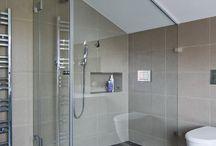 Podkrovní koupelny
