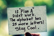 to plan / What's our Plan B