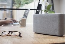 Yoyo - Bluetooth Speakers by hi-fi engineers / Lovingly wrapped in British wool woven in the heart of Yorkshire, the Yoyo (S), (M) and (L) take the expertise of our hi-fi engineers and pack it into simple Bluetooth units.