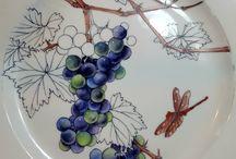 Роспись тарелок
