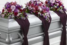 In Memory casket flowers