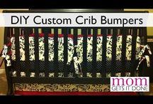 Baby bumper pads