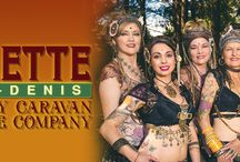 Paulette Rees-Denis & Gypsy Caravan Dance Company: Gypsy Caravan Tribal Bellydance