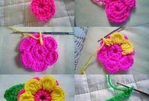 """uncinetto """"fiori'"""