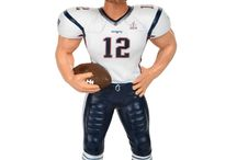 New England Patriots Super Bowl LI Bobbleheads / Bobbleheads for the Super Bowl 51 Champion New England Patriots.