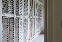 Bootroom or dressing room cupboards