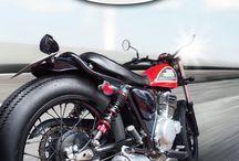 Motorbike shock absorber / YASUSU shock absorbers presented.