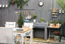 Outdoor Urban Spaces / You can find a little bit of paradise wherever you are. We've pinned our favorite outdoor urban spaces here.