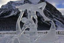 ICE SKULPTURES