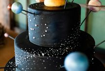 Planets and galaxie Cakes