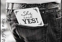 She said YES!  / Engagement photo's that may make you tear up!