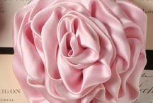 Rosa de tecido