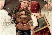 Vintage Christmas photos / by Jennifer Lowe