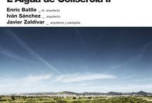 POSTERS MAP 2012-2013 / Posters de los Cursos de Formación Contínua y los Workshops Intensivos Internacionales del Master de Arquitectura del Paisaje de Barcelona 2012-2013