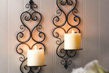 شمع دیواری