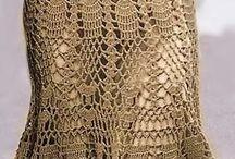 falda crochet bolero