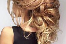 Bridal long hair styles / Long hairs styling, bridal hairs ideas, long hairs inspiration for bridal styling