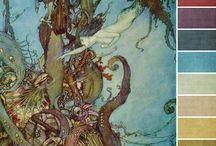 Color Ideas / Ideas de Color y mezclas