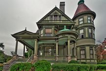 Buildings / My some-day home. Mostly Victorian houses.  / by Kait Hanrahan