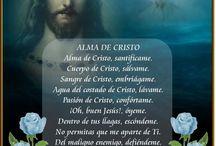 Oración alma de cristo