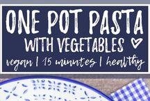 one pot vegie pasta