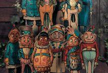 wood marionette originals