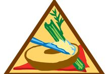 Brownies - (Legacy) Snacks / Requirements for Snacks Brownie Badge-- Step 1: Jump into the world of snacks. Step 2: Make a savory snack. Step 3: Try a sweet snack. Step 4: Snack for energy. Step 5: Slurp a snack. / by Girl Scouts SU24