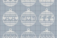 cross stitch xmas