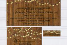 String Light Wedding Ideas