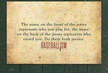 Dirt on my Diamond / Baseball / by Casey Arnall