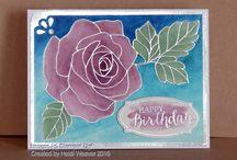 Cards - Rose Garden & Graceful Garden