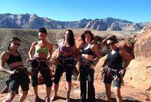 Girls / Climbing girls