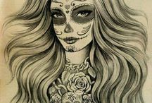 Skulls / I may have a slight obsession...  / by Melanie Carwin