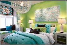 Teenage bedroom