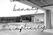 | There is beauty in simplicity |