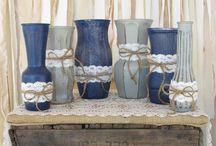 Blue-grey wedding