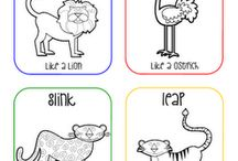 Theme unit Who's At the Zoo / by ♔†PICKED FOR YOU Eℓɨzaℬetɦ Lane-Allen †♔