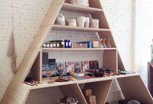 Inspiration, Shelves
