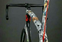 Custom Painted Bicycles
